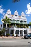 The Royal Plaza, Oranjestad, Aruba stock photo