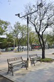 Royal Plaza Sanam Luang street view in  thailand. Stock Images