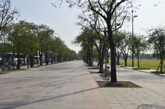 Royal Plaza Sanam Luang street view in  thailand. Stock Photo