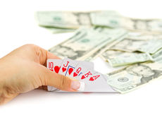 Royal poker Stock Images