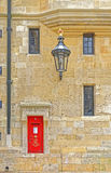 Royal post box, Windsor Castle, england Royalty Free Stock Images