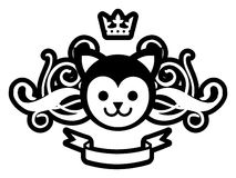 Royal Pussy Royalty Free Stock Photography