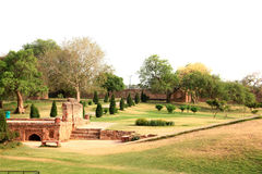 Royal qutub garden Stock Photos