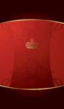 Royal Red Background Stock Photo
