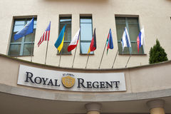Royal Regent Hotel in Karlovy Vary Stock Photography