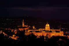 Royal Residence in Budapest Stock Photo