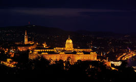 Royal Residence - night view Stock Photography
