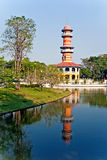The Royal Residence (Phra Thinang) and Sages Lookout Tower (Ho W Stock Photos