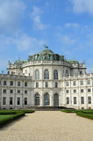 Royal residence of Stupinigi Stock Photo