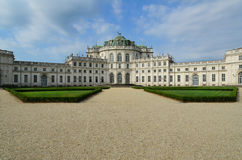 Royal residence of Stupinigi Stock Photo