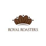 Royal roasters Royalty Free Stock Photos