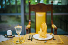 The Royal's Dining Table Stock Photography