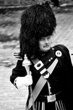 The Royal Scots Dragoon Guards in Edinburgh Royalty Free Stock Image