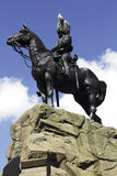 Royal Scots Greys Monument, Edinburgh Stock Photos
