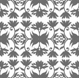 Royal seamless pattern with floral ornament for your creative de Royalty Free Stock Photo