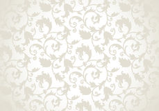 Royal seamless vector wallpaper Royalty Free Stock Images