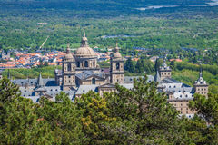 The Royal Seat of San Lorenzo de El Escorial, historical residence Stock Photo