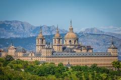 The Royal Seat of San Lorenzo de El Escorial, historical residence Stock Image