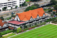 Royal Selangor Club. The Royal Selangor Club is a social club in Kuala Lumpur, Malaysia, founded in 1884 by the British who ruled Malaya. The club is situated stock photo