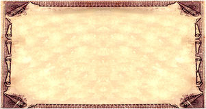 Royal Sepia Parchment paper Royalty Free Stock Image