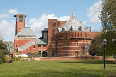 The Royal Shakespeare Theatre. Classic view of the Royal Shakespeare Theatre in Stratford-upon-Avon, Warwickshire, England, UK Stock Photo