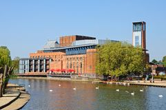 Royal Shakespeare theatre, Stratford-upon-Avon. Stock Photo