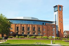 Royal Shakespeare theatre, Stratford-upon-Avon. Stock Photography