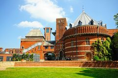 Royal Shakespeare theatre, Stratford-upon-Avon. Royalty Free Stock Photo