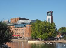 Royal Shakespeare Theatre in Stratford upon Avon Royalty Free Stock Photos