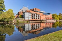 The Royal Shakespeare Theatre, Stratford upon Avon. Stock Images