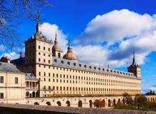 Royal Site of San Lorenzo de El Escorial Royalty Free Stock Photos