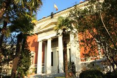 Royal Spanish Academy in Madrid, Spain Stock Images