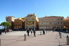 Royal Square in Monaco Stock Photo