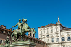 Royal Square Torino Royalty Free Stock Image