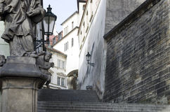 Royal Stairs in Prague Stock Image
