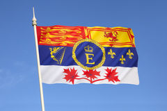 Royal Standard of Canada - Canadian Royal Standard Royalty Free Stock Images