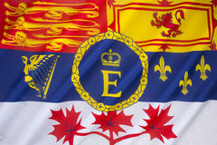 Royal Standard of Canada royalty free stock image