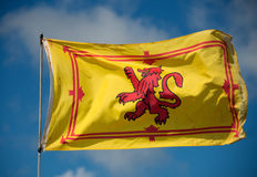 Royal Standard of Scotland. The Royal Standard of Scotland Stock Image