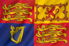 Royal Standard of the United Kingdom Royalty Free Stock Photography