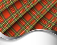 Royal Stewart tartan Royalty Free Stock Photos