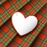 Royal Stewart tartan Stock Photos