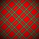 Royal Stewart tartan Stock Photography