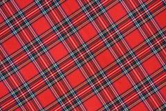 Royal Stewart Tartan Stock Image