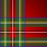 Royal Stewart tartan, pattern Royalty Free Stock Photography