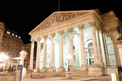 The Royal Stock Exchange Royalty Free Stock Images