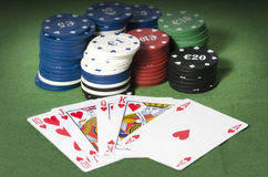Royal Straight Flush, Stock Photos