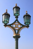 Royal street lamp Stock Photography