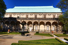 The Royal Summer Palace, also called Queen Anne's, put the build Ferdinand I in the years 1538-1560, Czech republic Royalty Free Stock Photo