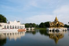 The Royal Summer Palace at Bang Pa In, Thailand Stock Photography
