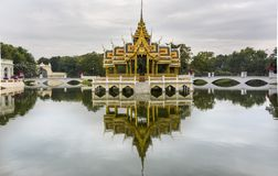 The Royal Summer Palace in Bang Pa-In, Thailand Royalty Free Stock Photography